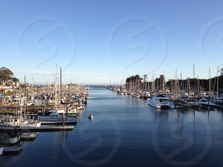 The Santa Cruz Harbor photo