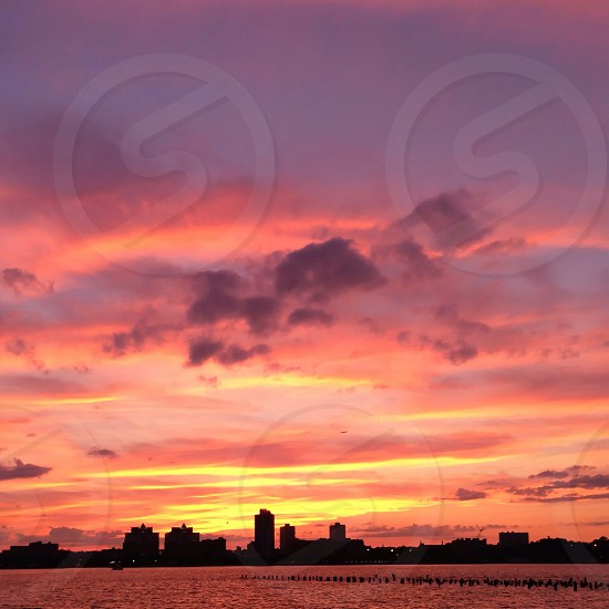 city silhouette  photo