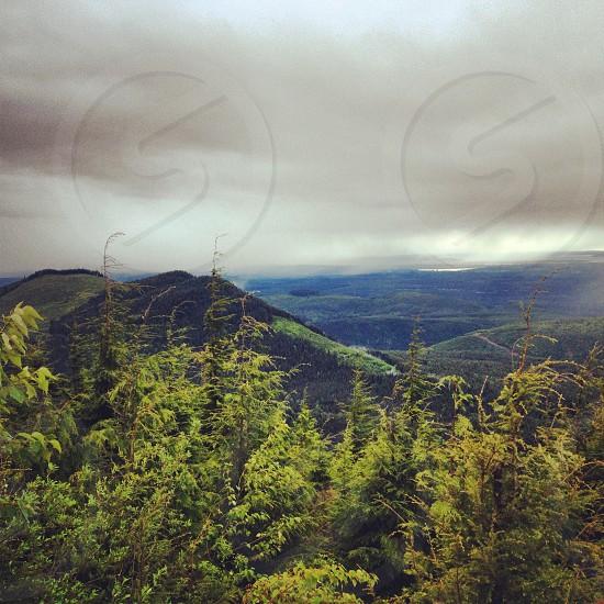 View from Mt. Pilchuck Washington PNW photo
