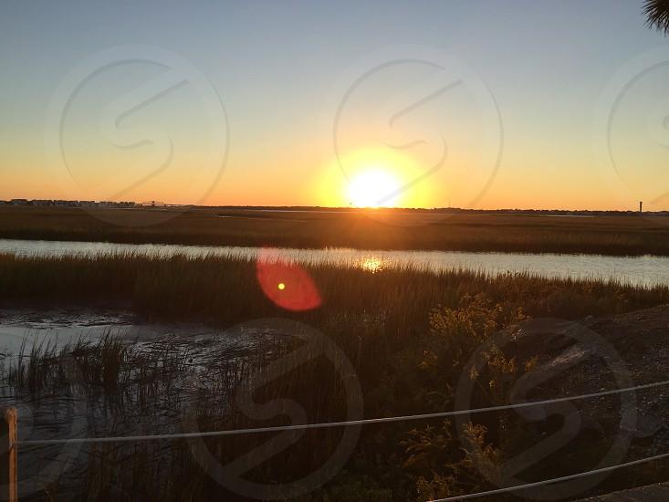 Sunrise on Shem Creeck photo