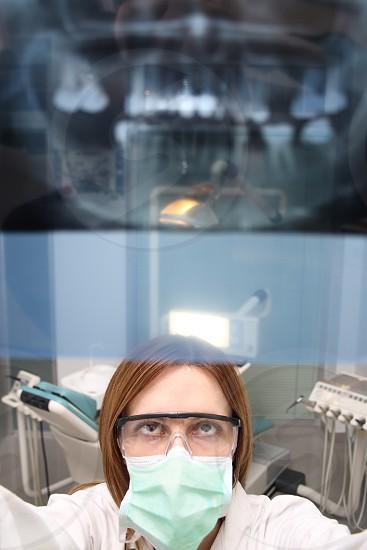 Looking at x ray photo