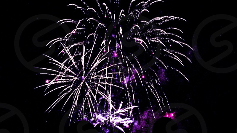 Kaboom colours flying at the fireworks display in Dunfermline! Stunning display. photo