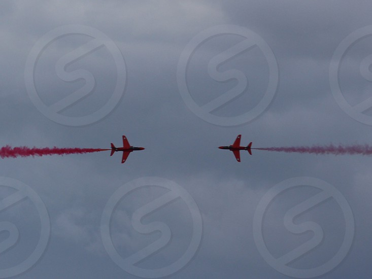 The Red Arrows! photo