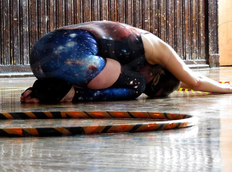 Yoga Hoop Dance Dance Meditation photo