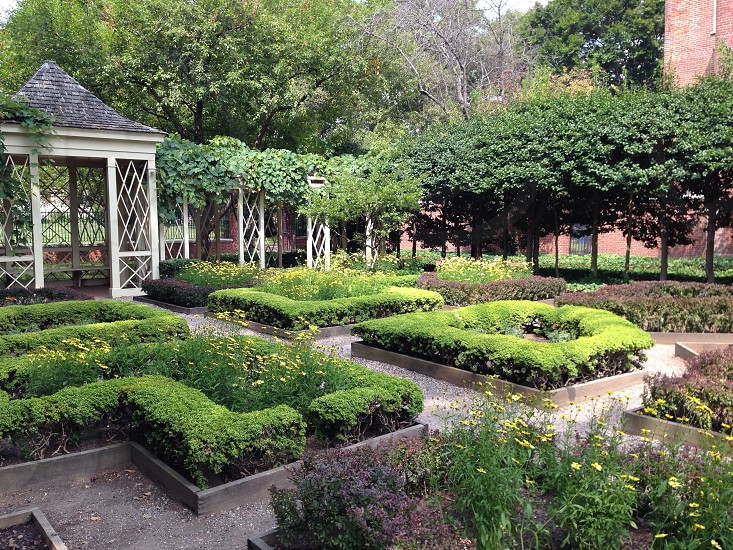 Garden Philadelphia historic photo
