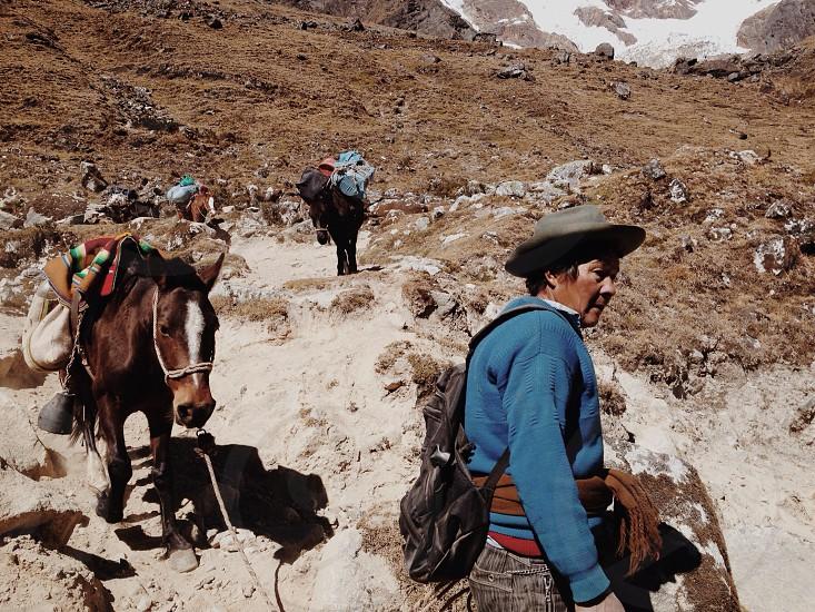 Salkantay Peru photo