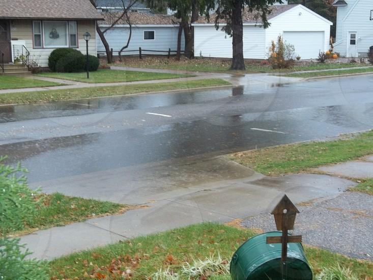 minor street flooding photo