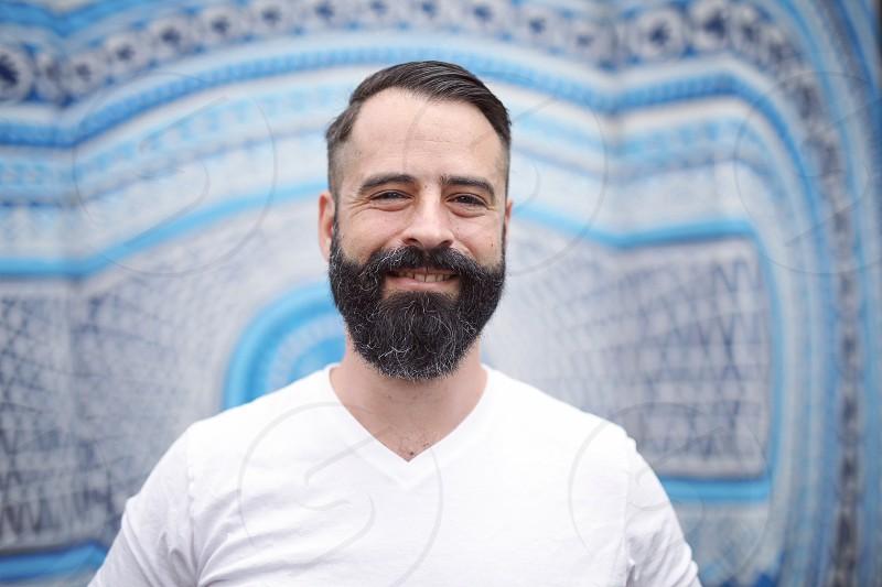 portrait man sexy beard fresh style gay hipster fun melbourne street photography photo