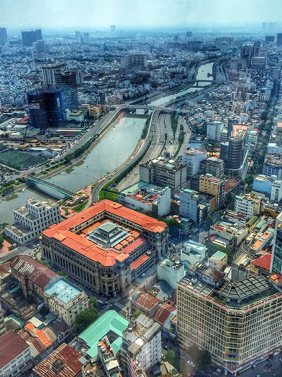 View of Ho Chi Minh City Vietnam photo
