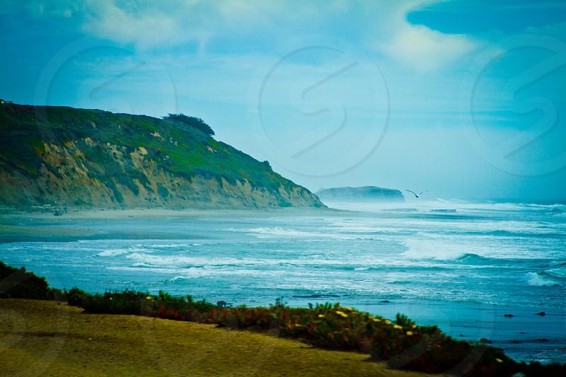 Peaceful Beach.  photo