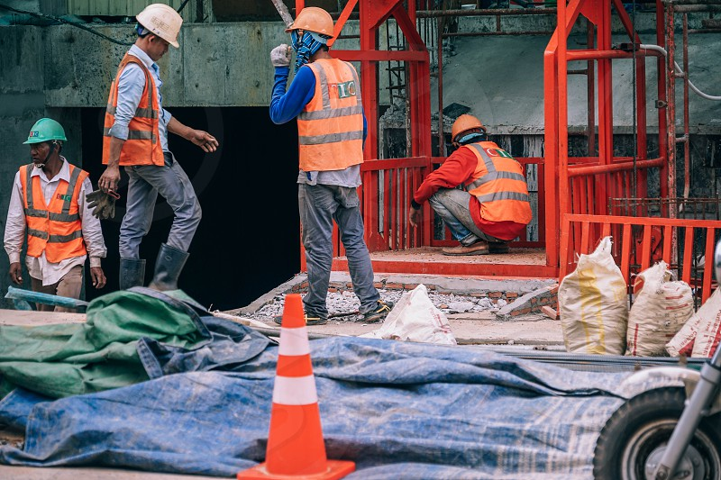 break	crew	cement	brick	heavy modernization	power	asphalt	orange sit	cigarette	worker	spade	expert security	protection	strength professional	work	build	job construction	vest	pavement overworked	street	sidewalk	new digging	helmet	fatiguing	city	tired sett	force	road photo