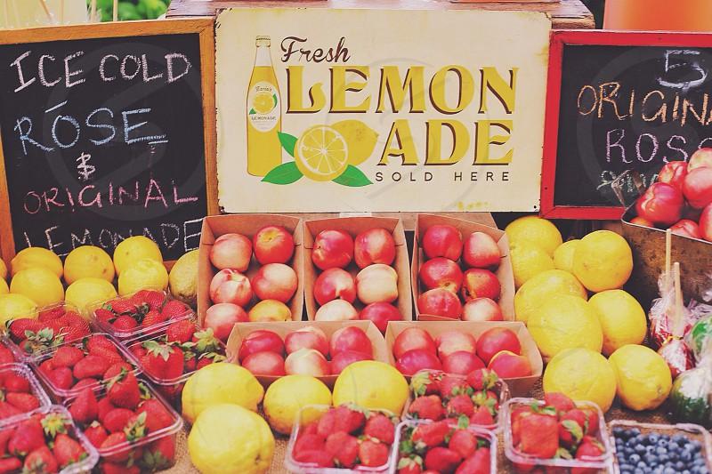 Lemonade stand photo