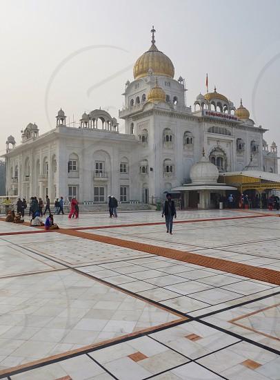 Gurudwara Bangla Sahib in New Delhi India photo