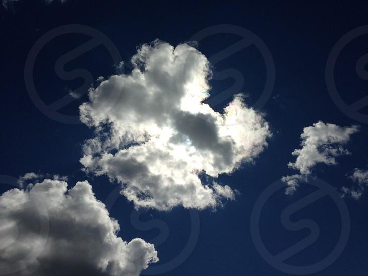 sky silhouette  photo
