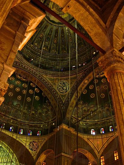Inside Mohamed Ali mosque Cairo photo