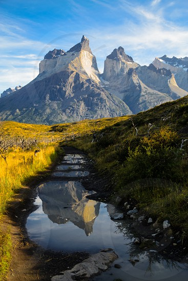 This pictures were taken in Torres del Paine National Park. Chilean Patagonia. photo