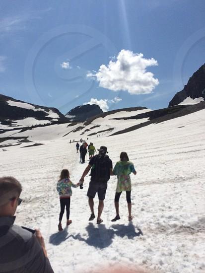Glacier National park.  photo