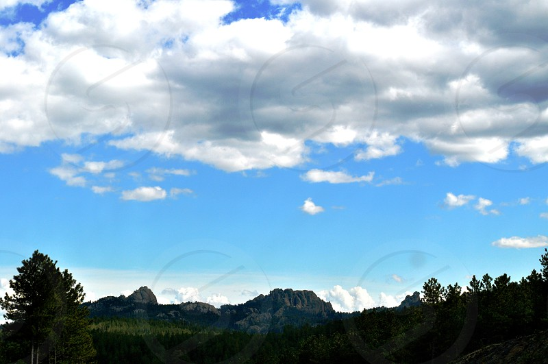 Black Hills and Sky - North Dakota - USA photo