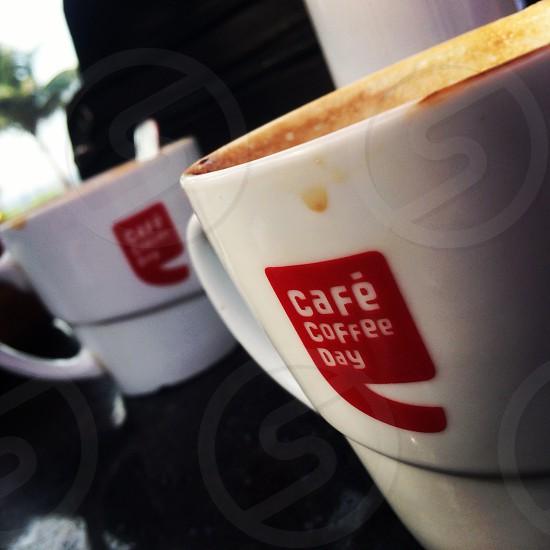 Cafe coffee day mug photo