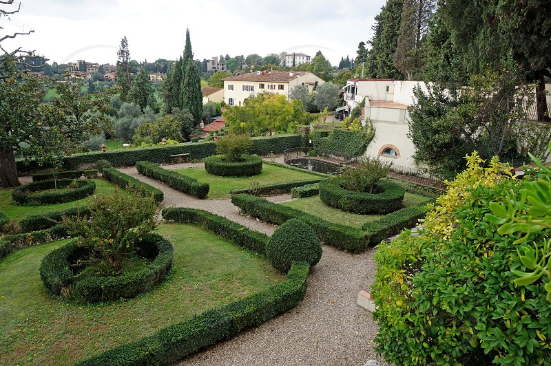 Fiesole near Florence in Tuscany Italy photo