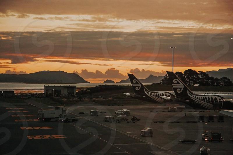 Airport Auckland New Zealand Ocean  photo