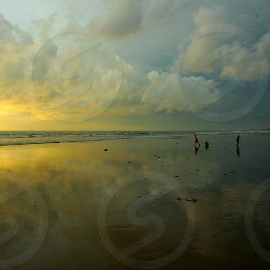 enjoy holidays in Bali photo