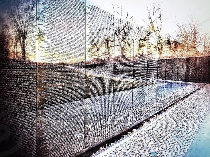 Vietnam War Monument Washington DC photo