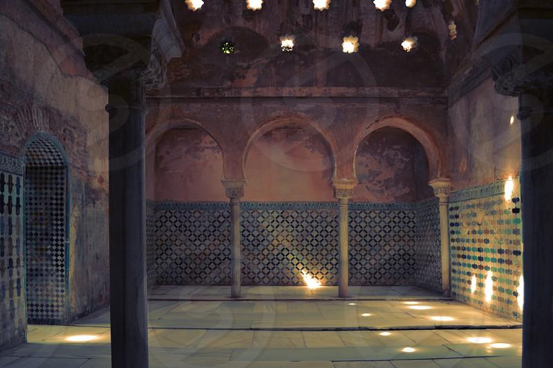 Sauna Alhambra Granada Spain photo