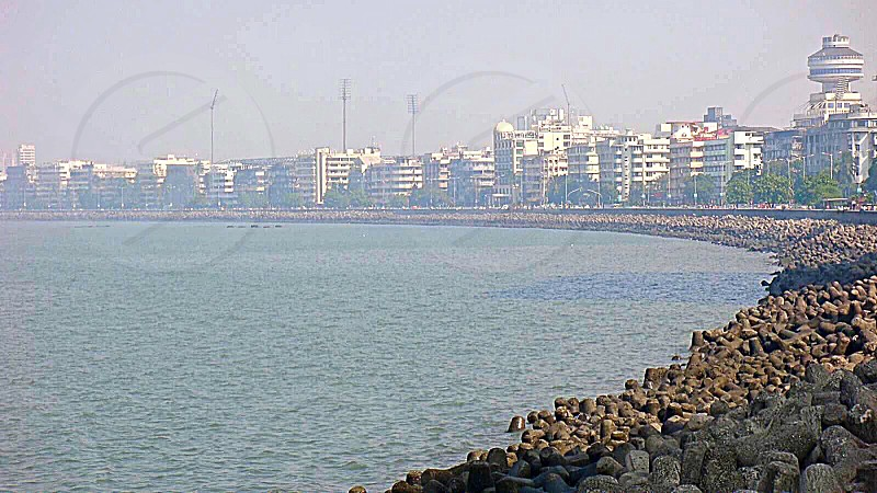 Mumbai City Coastline photo