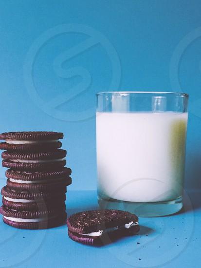 Oreos & Milk photo