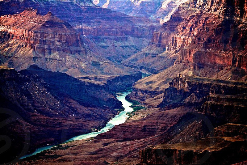 Grand Canyon river photo