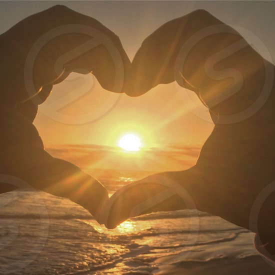 Love ocean and sunrises photo