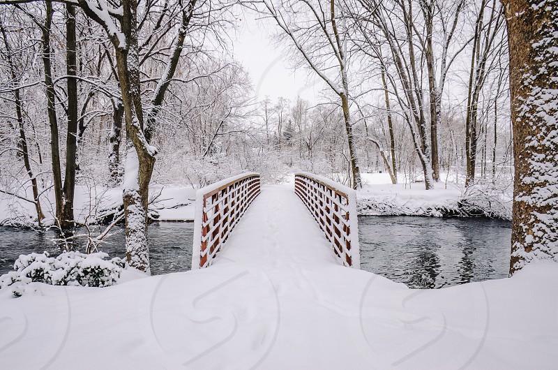 Bridging the gap. Northern NJ photo