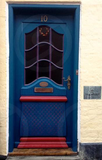 A door at Aalborg Denmark. photo