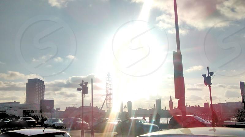 sunny London photo
