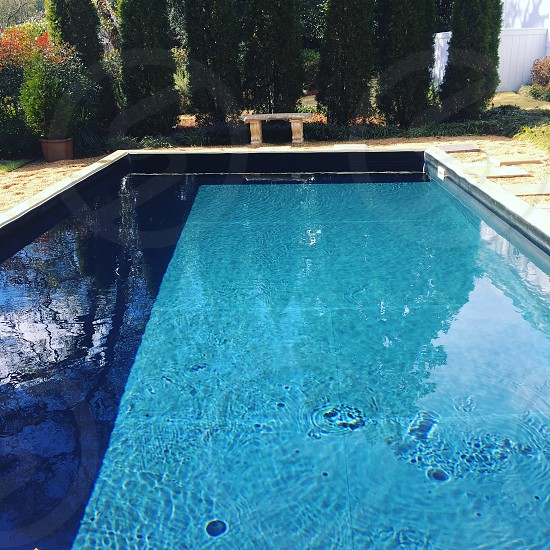 Reflection pool photo