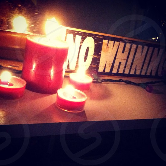 No whining  photo