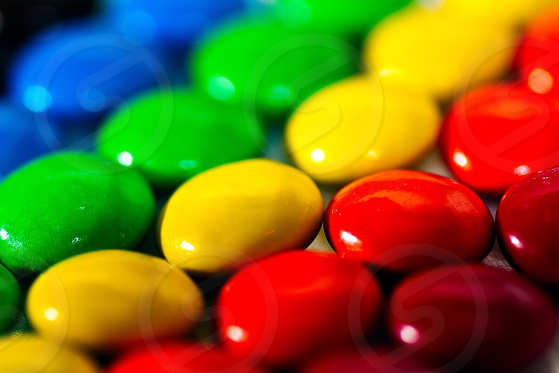 assorted colors candies  photo