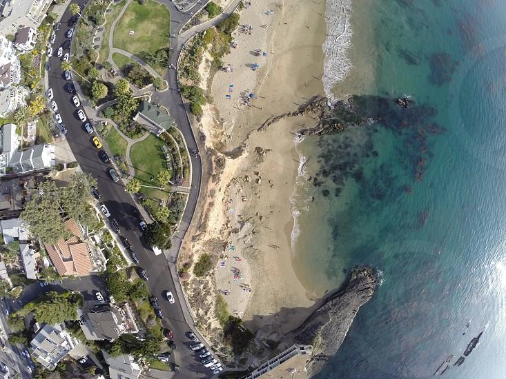 Aerial  Laguna Beach photo
