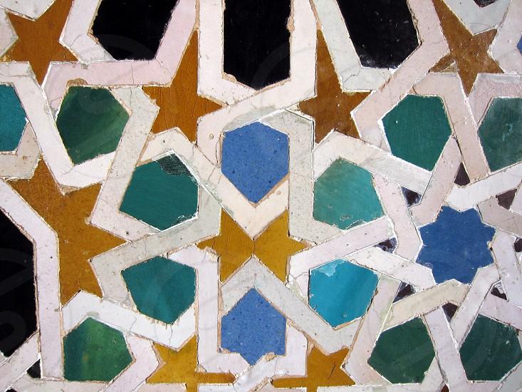 Pattern Alhambra photo