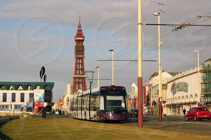 United Kingdom England. Blackpool Tower. photo