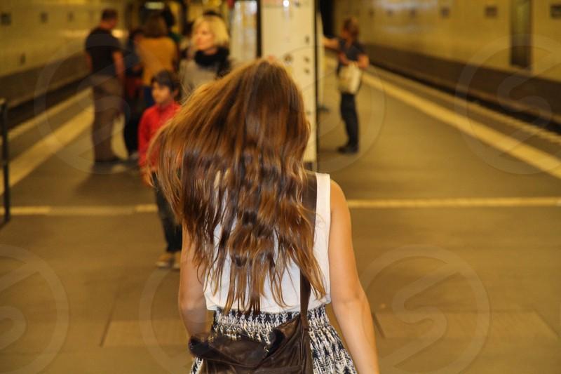 Girls hair photo