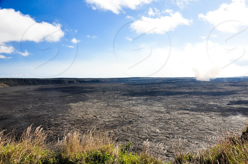Volcanic steam on the Big Island. photo