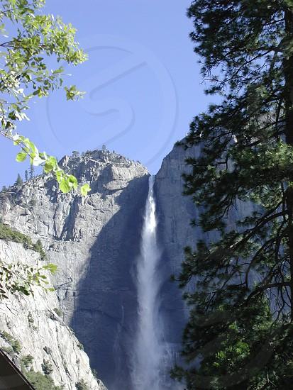 Waterfall at Yosemite photo