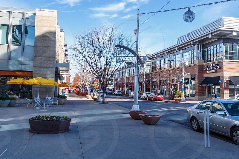 Belmar area of downtown Lakewood in Jefferson County Colroado. photo