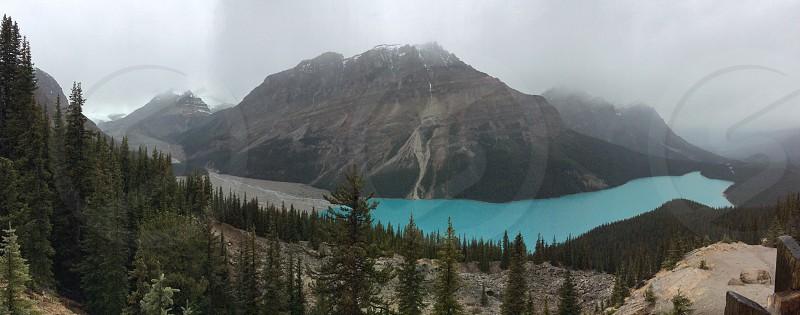 Peyto Lake Alberta photo