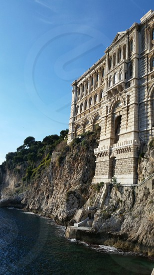 an architectural masterpiece in Monaco. photo