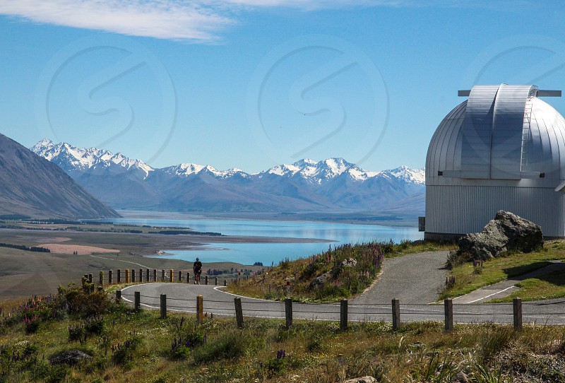 Mt John Observatory South Island New Zealand photo