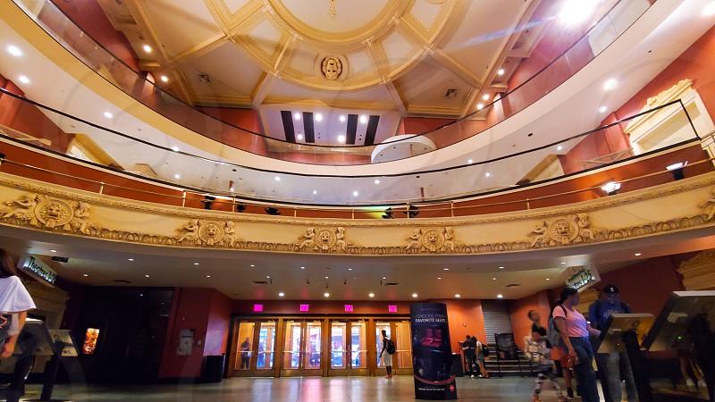 Movie theater interior  photo