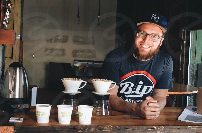 coffee coffee shop coffee bar pour over coffee barista coffee shop owner photo